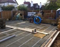 Canewdon Road – New Build House – Week Three