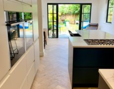 New extension in Leigh on Sea